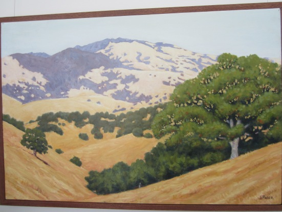 Painting of Mt. Diablo, CA